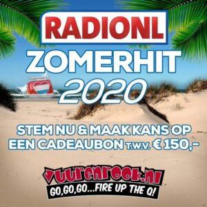 Stem nu voor de RADIONL Zomerhit 2020 en maak kans op een waardecheque!