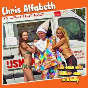 Chris Alphabeth lanceert 'Lik Eens Effe Lekker Aan Mijn Lolly'