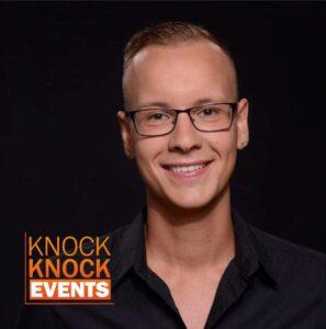 Julian Stuiver volgt advies van Stanley Hazes op en tekent bij Knock Knock Events