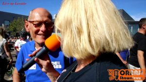 Oranje Shownieuws met Carla Schot Bij KWF in Goes ( 15 Sept 2019 ).