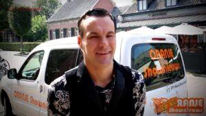 Oranje Shownieuws was bij Harrie van Amstel