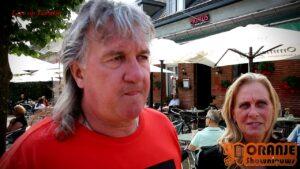 Oranje Shownieuws was bij Roger van Meer