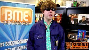 Oranje Shownieuws was op bezoek bij BME Bookings met Boer Brutus