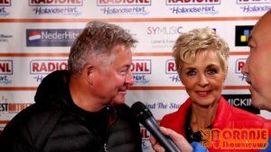 Oranje Shownieuws was te gast bij Mega Piratenfestijn in Oldebroek met Jan Keizer en Anny Schilder