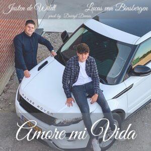Justen de Wildt bundelt voor zijn nieuwe single 'Amore Mi Vida' de krachten met rapper Lucas van Binsbergen