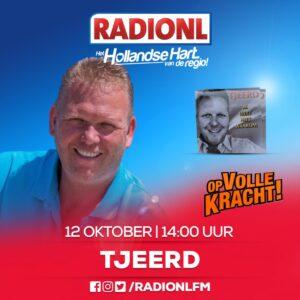 Tjeerd Henstra bezoekt RADIONL op 12 oktober 2020