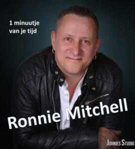 Ronnie Mitchell schrijft zelf tekst van z'n nieuwe single '1 Minuutje van je tijd'