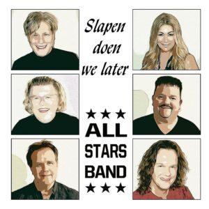 All Stars Band klaarwakker! Slapen doen ze later