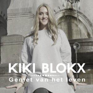 'Geniet van het leven' single van Kiki Blokx met een boodschap