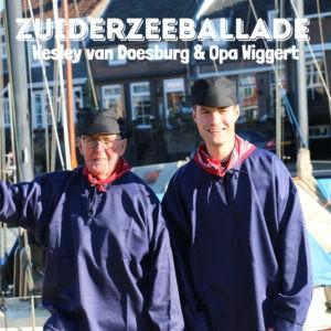 Wesley van Doesburg & Opa Wiggert geven de piraten klassieker 'Zuiderzeeballade' een verfrissend nieuw jasje