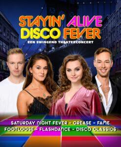 De Graaf & Cornelissen Entertainment bereidt swingend theaterconcert STAYIN' ALIVE Disco Fever voor