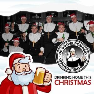 De Gospelpompers brengen parodie op  traditionele kersthit 'Driving Home For Christmas'