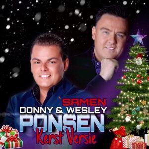 Wesley en Donny Ponsen belonen fans met een 'Kerstversie'van hun duet 'Samen'