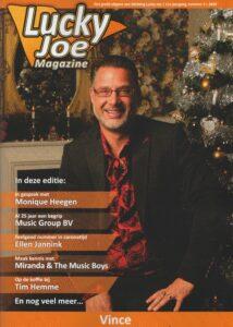 Ontvang gratis* editie 38 van artiestenblad Lucky Joe
