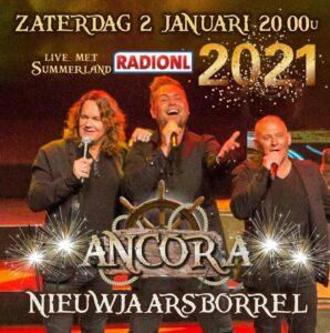 RADIONL en ANCORA organiseren online nieuwjaarsborrel
