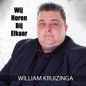 William Kruizinga vaart andere koers met nieuwe single 'Wij horen bij elkaar'