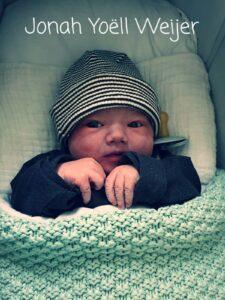 Jordi Weijer voor de tweede keer vader.