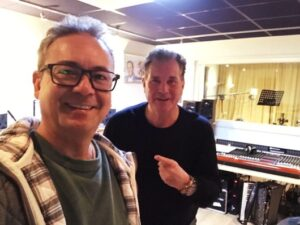Muzikale samenwerking Johnny Valentino en Laurens van Wessel