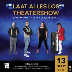 Rotterdamse zanger/entertainer Nigel Andrews is terug met een geheel nieuwe theatershow