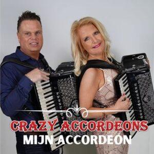Crazy Accordeons lanceren direct na TV Programma 'Ik geloof in mij' hun nieuwe single 'Mijn Accordeon'