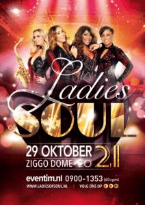 Ladies of Soul verplaatsen Ziggo Dome show naar 29 oktober 2021