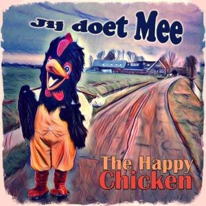 Wie schuilt er achter 'The Happy Chicken'