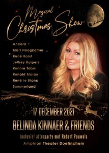 Beleef een magische kerst met Belinda Kinnaer & Friends