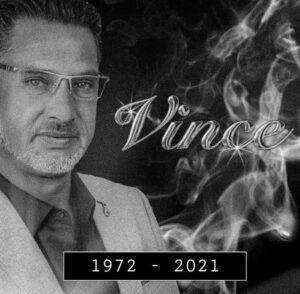Zanger Vince overleden