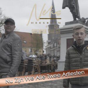 Nelis Heesbeen in duet met Daymian van Os
