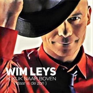 Wim Leys kijkt naar boven en wat ziet hij daar.....