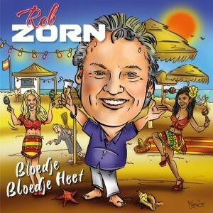 Volkszanger Rob Zorn luidt met Bloedje Bloedje Heet superhete zomer in