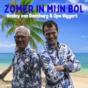 Wesley van Doesburg en Opa Wiggert hebben de ZOMER IN HUN BOL