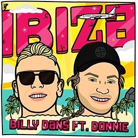 Billy Dans feat Donnie zijn klaar voor de zomer met IBIZA