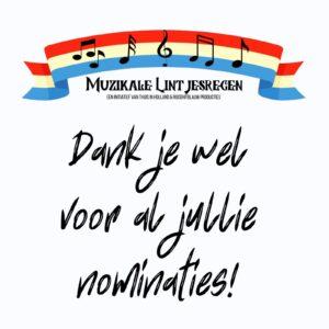 Je kunt niet meer nomineren voor de Muzikale Lintjesregen van 3 juli