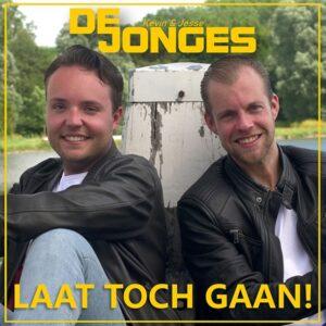 De Jonges debuteren op single met LAAT TOCH GAAN