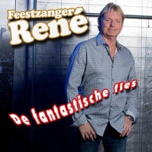 Feestzanger Rene poetst DE FLES van Jan Boezeroen op