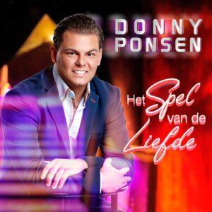 Donny Ponsen komt met temperament volle single HET SPEL VAN DE LIEFDE