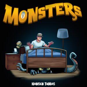 Met zijn nieuwe single MONSTERS brengt Hansen Tomas zijn eerste persoonlijke plaat